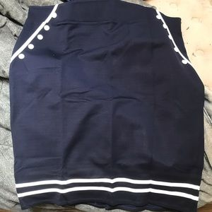 Torrid Sailor Pencil Skirt